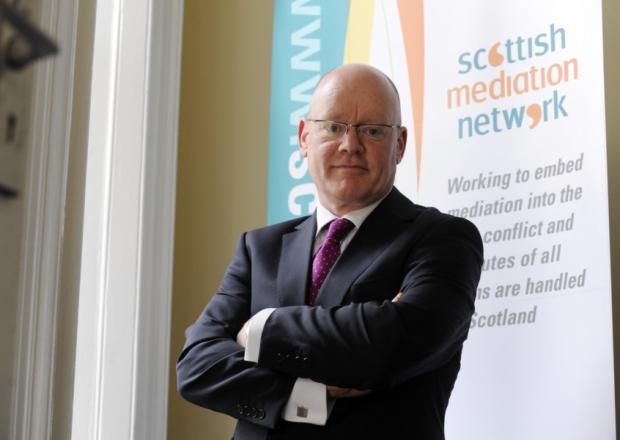 Graham Boyack, director of the Scottish Mediation Network